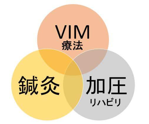 VIM 鍼灸 加圧リハビリ